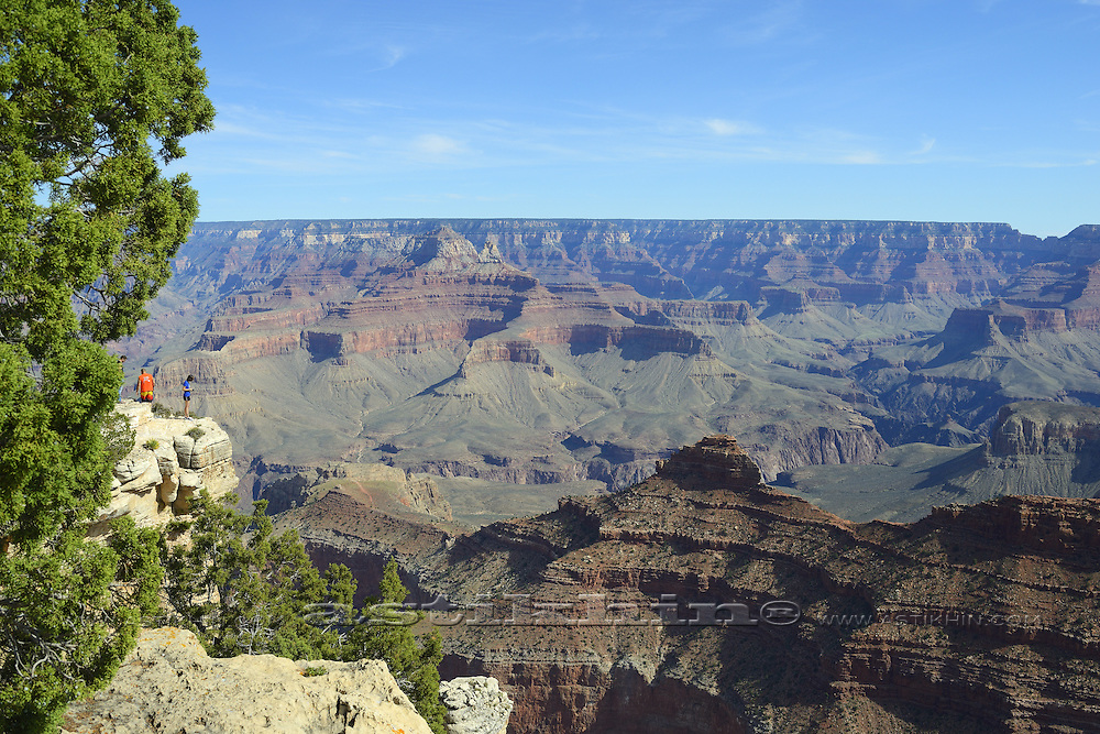 Sunny day in Grand Canyon.