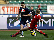 Bari (BA), 23-01-2011 ITALY - Italian Soccer Championship Day 21 - Bari VS Napoli..Pictured: Hamsik (N).Photo by Giovanni Marino/OTNPhotos . Obligatory Credit