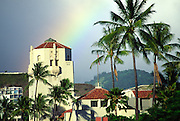 Rainbow, Honolulu Hale, Honolulu, Hawaii<br />