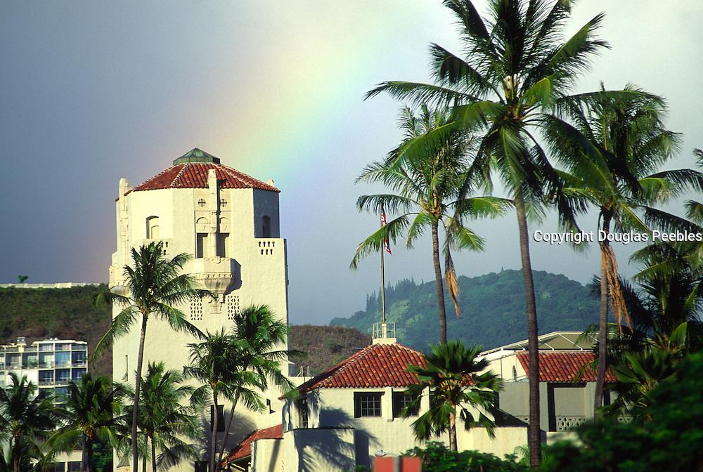Rainbow, Honolulu Hale, Honolulu, Hawaii<br />