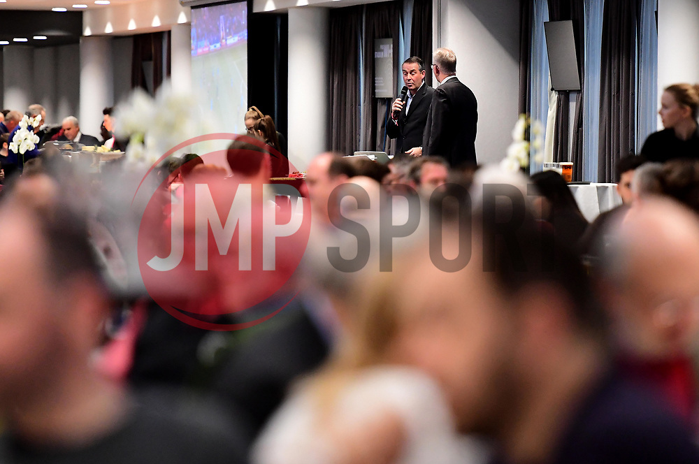 Former Bristol City player, Bob Taylor talking in the restaurant before the game  - Mandatory by-line: Joe Meredith/JMP - 27/01/2018 - FOOTBALL - Ashton Gate Stadium - Bristol, England - Bristol City v Queens Park Rangers - Sky Bet Championship