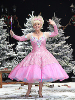 Barbara Windsor First Family Entertainment Pantomime photocall, Piccadilly Theatre, London UK, 26 November 2010: piQtured Sales: Ian@Piqtured.com +44(0)791 626 2580 (picture by Richard Goldschmidt)