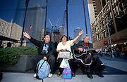 9-year anniversary of 911. Singing at Ground Zero. 2010
