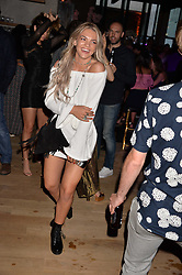 Louisa Johnson at the Warner Music Group and British GQ Summer Party in partnership with Quintessentially held at Nobu Shoreditch Willow Street, London England. 5 July 2017.<br /> Photo by Dominic O'Neill/SilverHub 0203 174 1069 sales@silverhubmedia.com