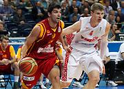 DESCRIZIONE : Vilnius Lithuania Lituania Eurobasket Men 2011 Second Round Russia Macedonia Russia FYR of Macedonia<br /> GIOCATORE : Damjan Stojanovski<br /> CATEGORIA : palleggio penetrazione<br /> SQUADRA : Macedonia FYR of Macedonia<br /> EVENTO : Eurobasket Men 2011<br /> GARA : Russia Macedonia Russia FYR of Macedonia<br /> DATA : 12/09/2011<br /> SPORT : Pallacanestro <br /> AUTORE : Agenzia Ciamillo-Castoria/M.Metlas<br /> Galleria : Eurobasket Men 2011<br /> Fotonotizia : Vilnius Lithuania Lituania Eurobasket Men 2011 Second Round Russia Macedonia Russia FYR of Macedonia<br /> Predefinita :