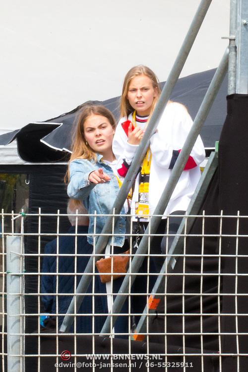 NLD/Zandvoort/20180520 - Jumbo Race dagen 2018, Gravin Leonore van Oranje en Gravin Eloise van Oranje