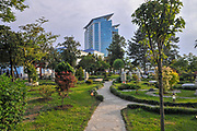Japanese style garden at Miracle Park, Batumi, Georgia