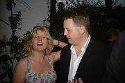 Rachel Johnson and Matthew D'Ancona, BOOK PARTY FOR TABATHA'S CODE BY MATTHEW D'ANCONA. Spectator. Doughty St. London. 11 May 2006. ONE TIME USE ONLY - DO NOT ARCHIVE  © Copyright Photograph by Dafydd Jones 66 Stockwell Park Rd. London SW9 0DA Tel 020 7733 0108 www.dafjones.com