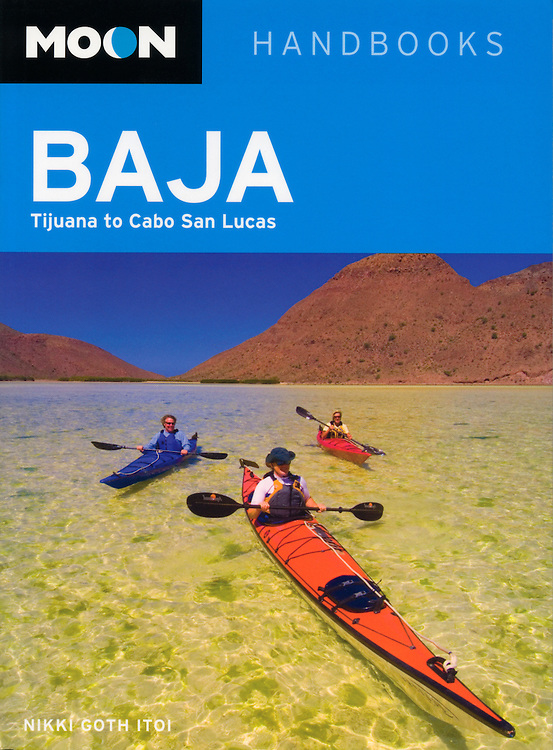 Moon travel guide cover-Sea of Cortez, Baja, Mexico