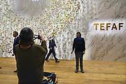 Nederland, Maastricht, 17-3-2017 Tefaf, The European Fine Art Fair in het MECC. Dit is de grootste kunstbeurs in Europa en ter wereld. Onder de topstukken bevindt zich een vroeg werk van Vincent van Gogh . Foto: Flip Franssen
