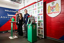 Joel Osborne stands in for Louis Carey in a semi final draw run through - Rogan/JMP - 20/12/2017 - Ashton Gate Stadium - Bristol, England - Bristol City v Manchester United - Carabao Cup Quarter Final.