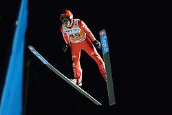 21.11.2014, Vogtland Arena, Klingenthal, GER, FIS Weltcup Ski Sprung, Klingenthal, Herren, HS 140, Qualifikation, im Bild Richard Freitag (GER) // during the mens HS 140 qualification of FIS Ski jumping World Cup at the Vogtland Arena in Klingenthal, Germany on 2014/11/21. EXPA Pictures © 2014, PhotoCredit: EXPA/ Eibner-Pressefoto/ Harzer<br /> <br /> *****ATTENTION - OUT of GER*****