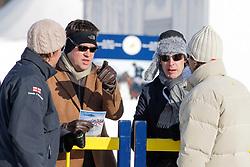 Rod Kohler and Merrick Haydon of Revolution Sports<br /> Match Germany - Switzerland<br /> St.Moritz Polo World Cup On Snow 2011<br /> © Dirk Caremans