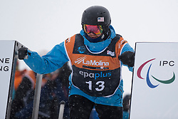 SIDES James, Snowboarder Cross, 2015 IPC Snowboarding World Championships, La Molina, Spain