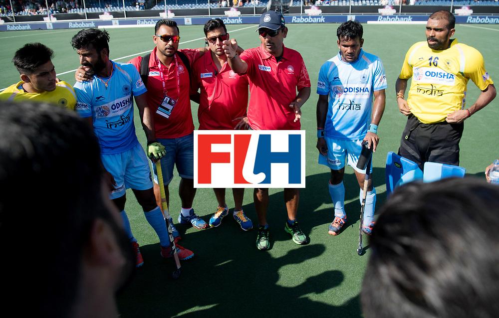 BREDA - Rabobank Hockey Champions Trophy<br /> The Netherlands - India<br /> Photo: Harendra Singh.<br /> COPYRIGHT WORLDSPORTPICS FRANK UIJLENBROEK