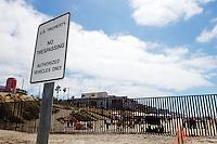 No Trespassing Sign, Border Field State Park, California
