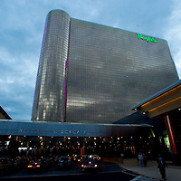 (PFEATURES) Atlantic City 10/23/2003  Exterior of the Borgata Hotel and Casino.  Michael J. Treola Staff Photographer....MJT
