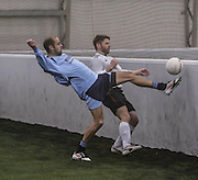 Thomsons (blue) v Cannon Fodder - Dundee Saturday Morning FA Wintertoto 5 a sides at Soccerworld<br /> <br />  - &copy; David Young - www.davidyoungphoto.co.uk - email: davidyoungphoto@gmail.com