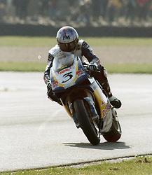 JOHN REYNOLDS  REVE RED BULL DUCATI,   British Superbike Championship Donington Park 9th April 20009th April 2000,