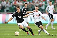 Fotball , 23. august 20123 , Europaleague<br /> Legia Warsava - Rosenborg<br />  Legia Warsaw Rosenborg League  <br /> Markus Henriksen , RBK<br /> <br /> Michal Kucharczyk , LW<br /> <br /> Norway only