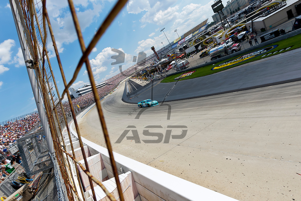 DOVER, DE - JUN 03, 2012:  The NASCAR Sprint Cup teams take to the track for the FedEx 400 Benefiting Autism Speaks at the Dover International Speedway in Dover, DE.
