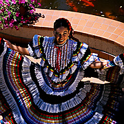 Mexican dancer.