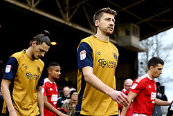 Jens Hegeler of Bristol City and Milan Djuric of Bristol City - Mandatory by-line: Robbie Stephenson/JMP - 21/01/2017 - FOOTBALL - The City Ground - Nottingham, England - Nottingham Forest v Bristol City - Sky Bet Championship