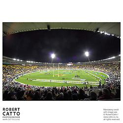 British & Irish Lions;Wellington Lions at the British & Irish Lions v. Wellington Lions Match at the Westpac Stadium, Wellington, New Zealand.<br />