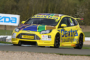 #14 Alex Martin - Dextra Racing with Team Parker, Ford Focus during the MSA British Touring Car Championship at Donington Park, Castle Donington, United Kingdom on 17 April 2016. Photo by Aaron  Lupton.