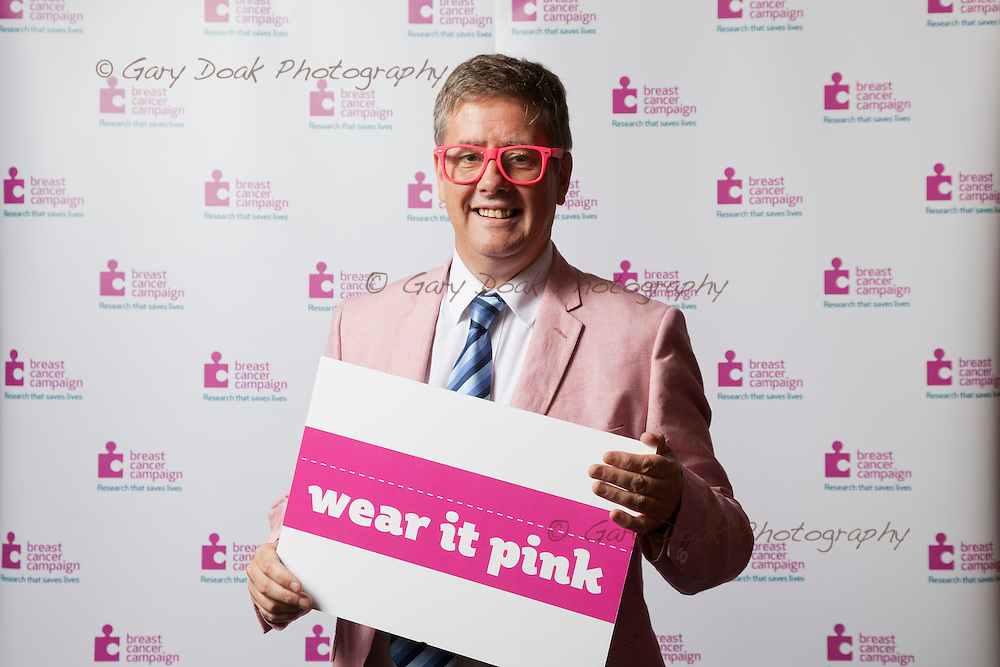 Breast Cancer Campaign. <br /> MSP's 'Wear it Pink!' at the Scottish Parliament, Holyrood, Edinburgh.<br /> Picture by Gary Doak Photography.