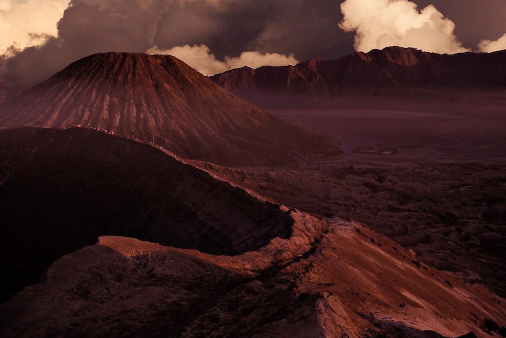 Bromo volcano (Indonesia) at dawn
