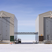 LDB Balloon Site Hangar Buildings, the tallest buildings in Antarctica.