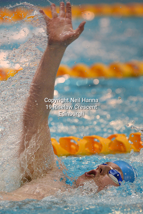 British Para-Swimming International Meet 2016, Tollcross Swimming Centre, Glasgow.<br /> <br /> Event 202 Mens MC 100m Backstroke <br /> <br /> Adam Donnachie<br /> <br /> <br />  Neil Hanna Photography<br /> www.neilhannaphotography.co.uk<br /> 07702 246823