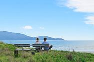 Oceania, New Zealand, Aotearoa, North Island, Waikanae , Waikanae Beach