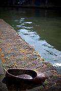 Shoe by the Catharijnesingel Canal, Utrecht, Netherlands