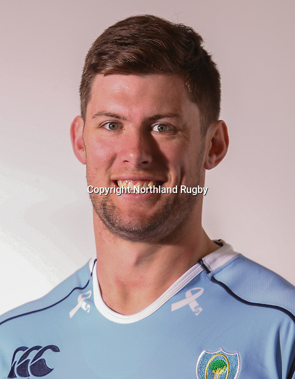 Michael Stolberg. Headshots of the Northland ITM Cup rugby union team for the 2015 season.