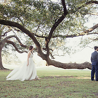 Andre & Laura | Audubon Clubhouse Wedding Ceremony & Reception First Look 2014 | 1216 Studio New Orleans Wedding Photographers