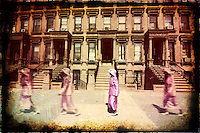 New-York City, Harlem. Sunday morning.<br />