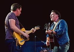 David and Joe Dunwell of The Dunwells perform at Sixways Stadium - Mandatory by-line: Matt McNulty/JMP - 14/07/2017 - Sixways Stadium - Worcester, England