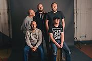 Portraits of Mogwai taken backstage at Atlantic Studios in Ásbrú for ATP Iceland 2014 in Keflavík, Iceland. July 10, 2014. Copyright © 2014 Matthew Eisman. All Rights Reserved