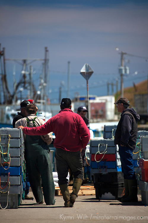 North America, Canada, Nova Scotia, Canso. Fishermen of Canso.