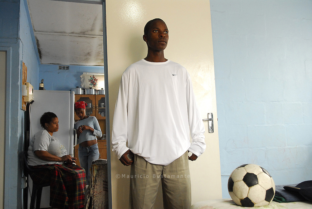 Player at Langa Towschip..Cape Town
