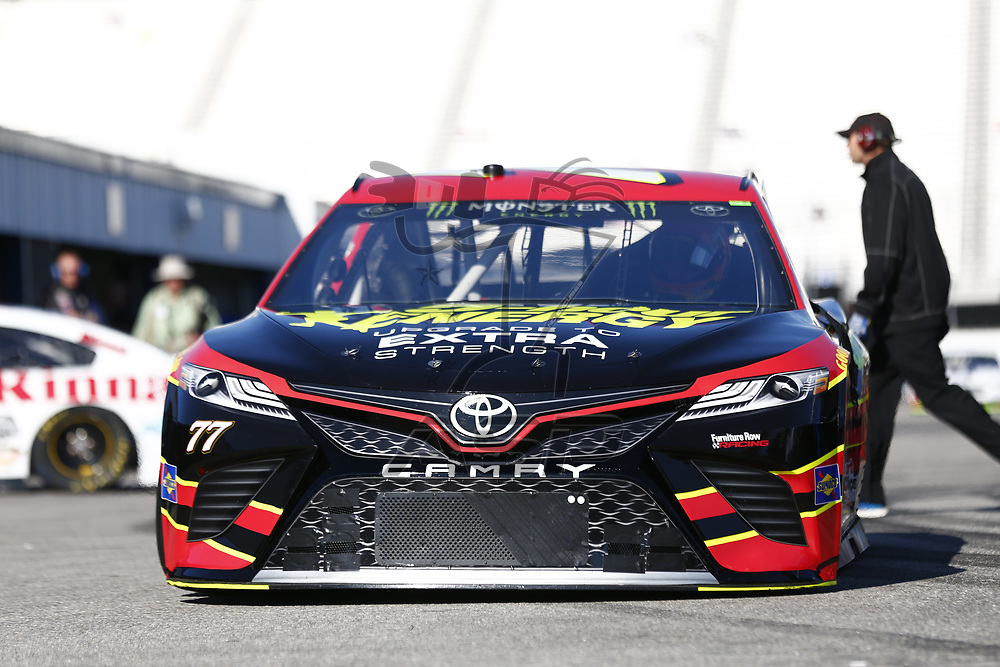 September 23, 2017 - Loudon, New Hampshire, USA: Erik Jones (77) takes to the track to practice for the ISM Connect 300 at New Hampshire Motor Speedway in Loudon, New Hampshire.