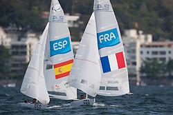 MONTES VORCY Arturo, ESP, 1 Person Keelboat, 2.4mR, Sailing, Voile, SEGUIN Damien, FRA à Rio 2016 Paralympic Games, Brazil