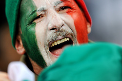 14.06.2010, Cape Town Stadium, Kapstadt, RSA, FIFA WM 2010, Italien vs Paraguay im Bild Italien Fan Feature, EXPA Pictures © 2010, PhotoCredit: EXPA/ InsideFoto/ G. Perottino, ATTENTION! FOR AUSTRIA AND SLOVENIA ONLY!!! / SPORTIDA PHOTO AGENCY