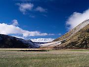 The Puketeraki Range near Arthur's Pass, New Zealand.