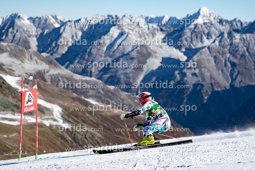 22.10.2016, Rettenbachferner, Soelden, AUT, FIS Weltcup Ski Alpin, Soelden, Riesenslalom, Damen, 1. Durchgang, im Bild Katharina Truppe (AUT) // Katharina Truppe of Austria in action during 1st run of ladies Giant Slalom of the FIS Ski Alpine Worldcup opening at the Rettenbachferner in Soelden, Austria on 2016/10/22. EXPA Pictures © 2016, PhotoCredit: EXPA/ Johann Groder