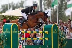 Whitaker William, GBR, Utamaro D Ecaussines<br /> Rolex Grand Prix CSI 5* - Knokke 2017<br /> © Dirk Caremans<br /> 09/07/17