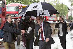 © Licensed to London News Pictures. 27/06/2016. LONDON, UK.  DAVID MUNDELL arrives for a cabinet meeting at 10 Downing Street this morning.  Photo credit: Vickie Flores/LNP