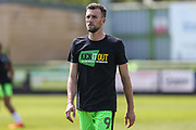 Forest Green Rovers Christian Doidge(9) during the EFL Sky Bet League 2 match between Forest Green Rovers and Grimsby Town FC at the New Lawn, Forest Green, United Kingdom on 5 May 2018. Picture by Shane Healey.